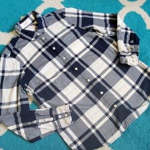 J. Crew Factory button down size small